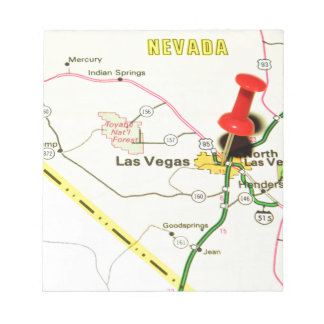 Las Vegas, Nevada Notepad