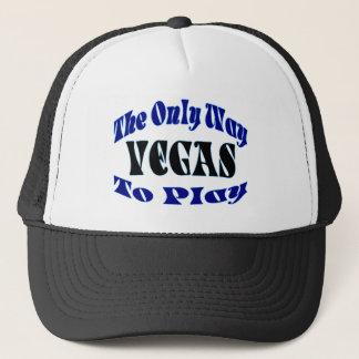 Las Vegas Play Trucker Hat