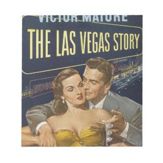 Las Vegas poster Notepad