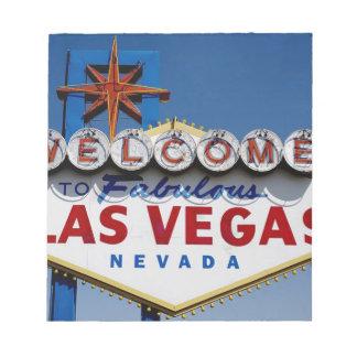 Las Vegas Sign Notepad