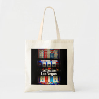 Las Vegas Slot Machine Casino Gambler Tote Bag