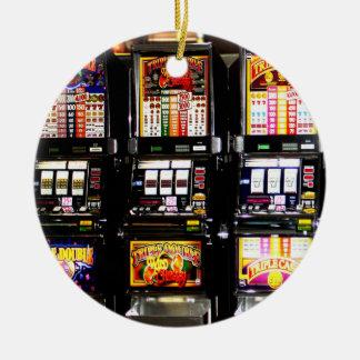 Las Vegas Slots Dream Machines Christmas Ornament