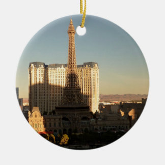 Las Vegas strip 3 Christmas Ornament
