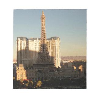 Las Vegas strip 3 Notepad