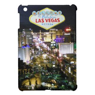 Las Vegas Strip and Welcome Sign iPad Mini Case