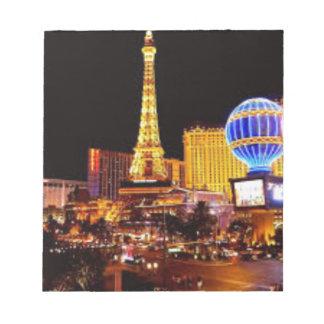 Las Vegas Strip Notepad