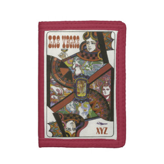 Las Vegas USA Vintage Travel wallets