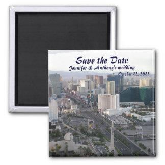 Las Vegas Wedding Announcement Magnet