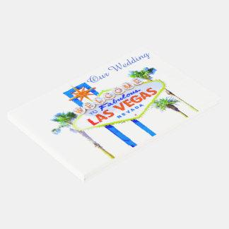 Las Vegas Wedding Guest Book