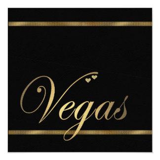 Las Vegas Wedding Invitation Template