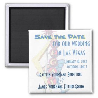 Las Vegas Wedding Save the Date Magnet