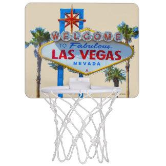 Las Vegas Welcome Sign Mini Basketball Hoop