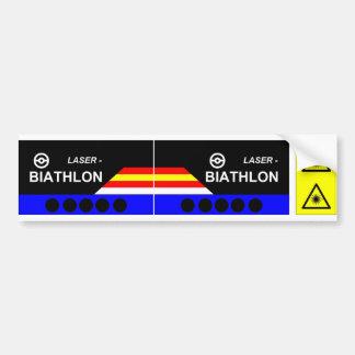 Laser Biathlon Bumper Sticker