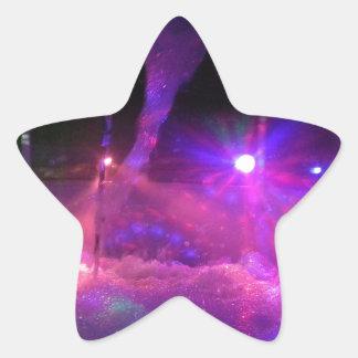 Laser Light nights Star Sticker