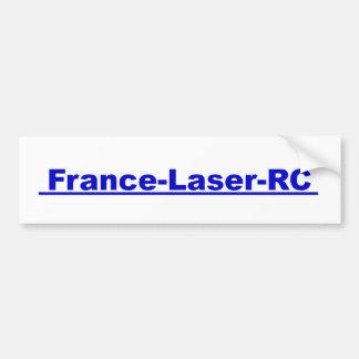 Laser Sticker blue France RC