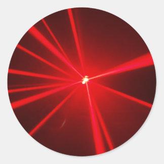 Lasers Classic Round Sticker