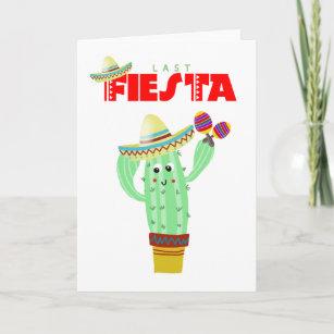 last fiesta bachelorette thank you card