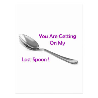 Last Spoon Postcard