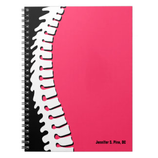 Lateral Spine Personalised Notebook