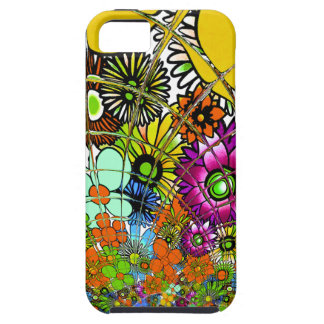 Latest colorful amazing floral pattern design art. case for the iPhone 5