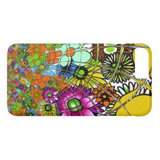 Latest colorful amazing floral pattern design art. iPhone 8 plus/7 plus case