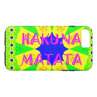 Latest Hakuna Matata Beautiful Amazing Design Colo iPhone 7 Plus Case