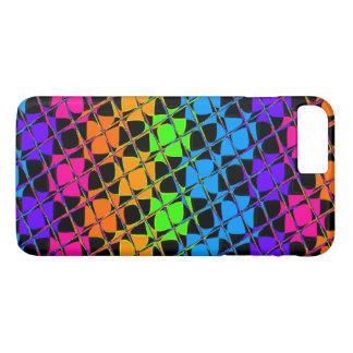 Latest lovely edgy colorful happy reflection desig iPhone 7 plus case