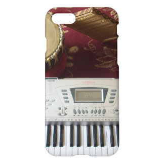 Latest Lovely keyboard piano keys music design iPhone 7 Case