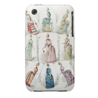 Latest Paris Fashions, nine day dresses in a fashi iPhone 3 Cases
