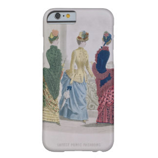 Latest Paris Fashions, three day dresses in a fash Barely There iPhone 6 Case