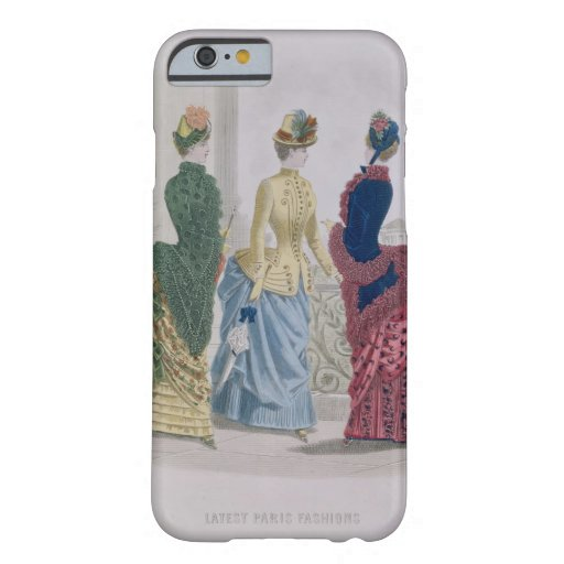Latest Paris Fashions, three day dresses in a fash iPhone 6 Case
