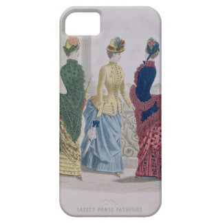 Latest Paris Fashions, three day dresses in a fash iPhone 5 Cover