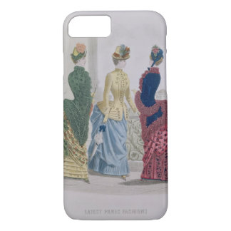 Latest Paris Fashions, three day dresses in a fash iPhone 7 Case