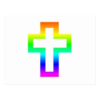 Latin (Christian) Cross Postcard