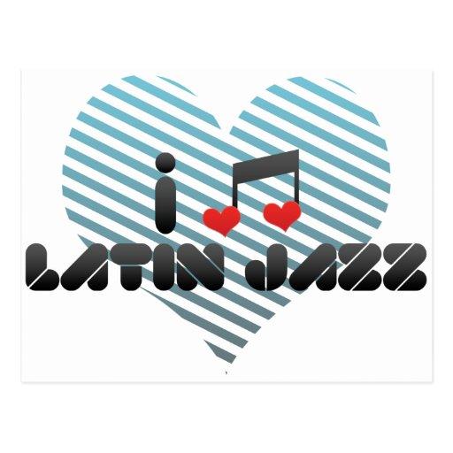 Latin Jazz Post Card