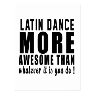Latin more awesome than whatever it is you do ! post cards