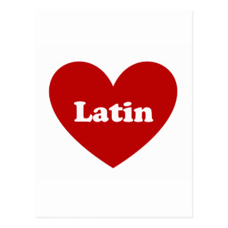 Latin Post Cards