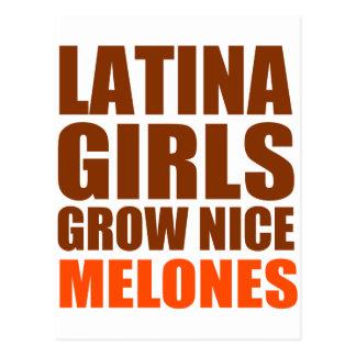 LATINA GIRLS POSTCARD