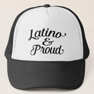 Latino and proud trucker hat