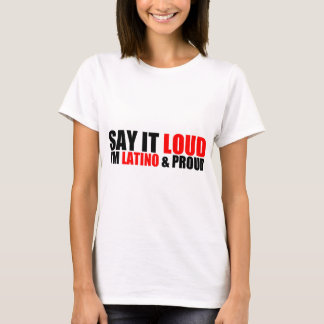 Latino & Proud T-Shirt