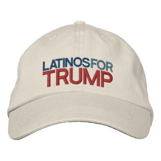 Latinos for Trump Embroidered Baseball Cap