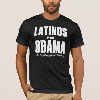Latinos Por Obama 2 T-Shirt
