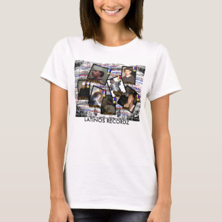 latinos Recordz, T -SHIRT T-Shirt