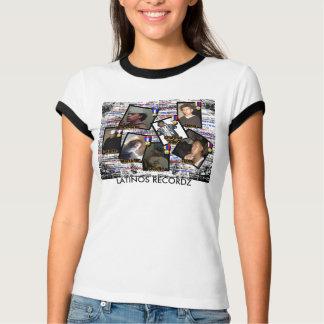 LATINOS RECORDZ  woman T-Shirt