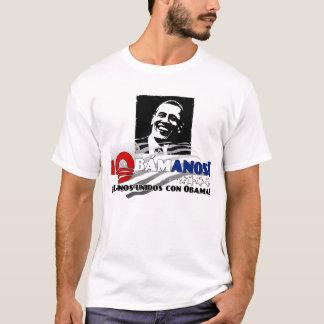 Latinos Unidos con Obama T-Shirt