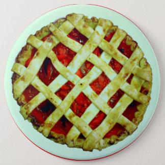 lattice crust strawberry pie button