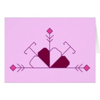 Latvian loyalty creed card (female version)