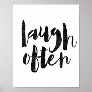 Laugh Often Poster
