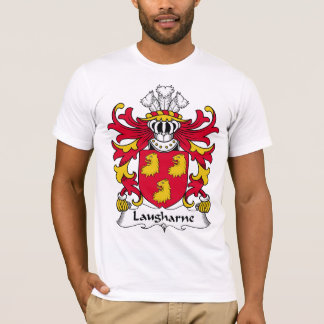 Laugharne Family Crest T-Shirt