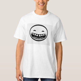 Laughing Face Design T-Shirt